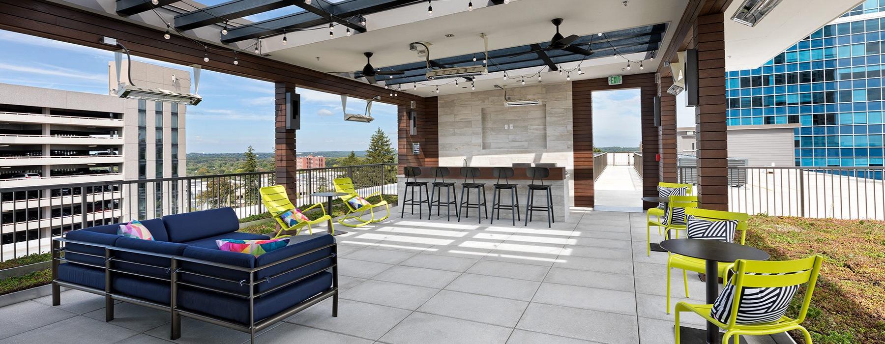 roof top sky lounge